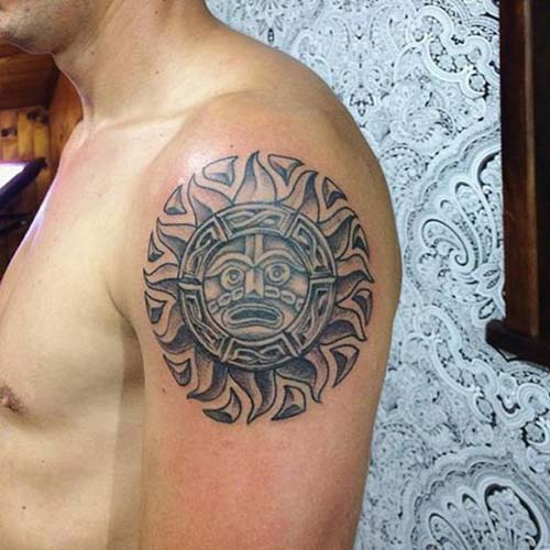 güneş dövmeleri sun tattoos 22