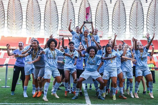 Grêmio conquista o gauchão feminino 2018