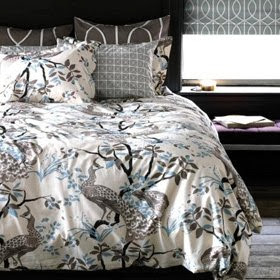 Peacock Full/Queen Duvet Cover Set