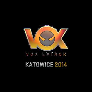 Sticker (naklejka) Vox Eminor | Katowice 2014 (Holo)