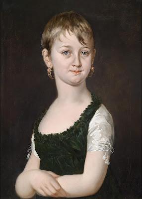 Portrait d'une Jeune Fille (1825), Barbara Krafft