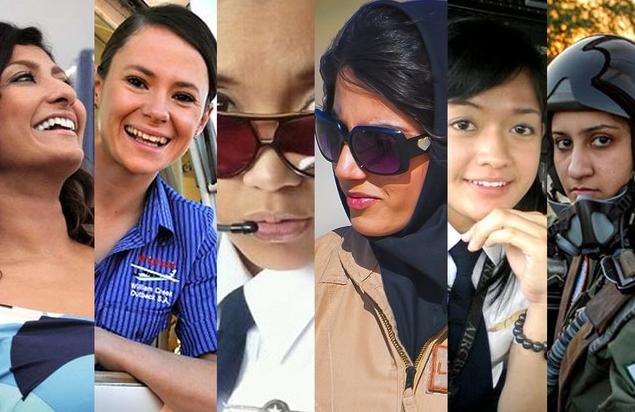 FOTO: Pilot-pilot Cantik yang Membuat Pria Melayang