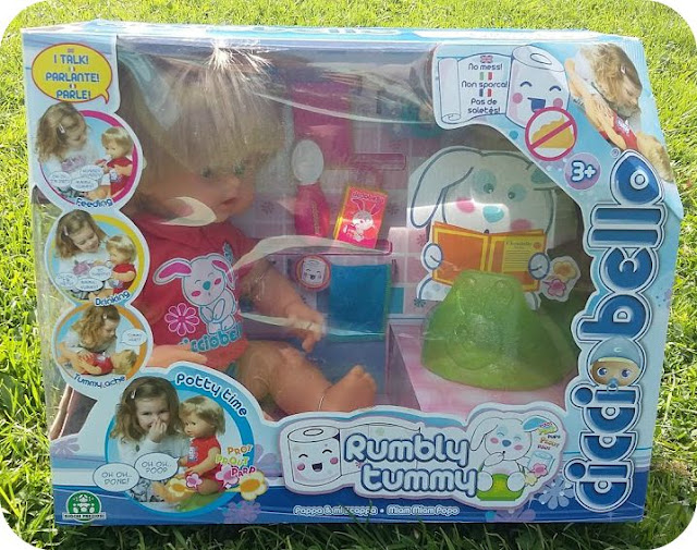 Cicciobello Rumbly Tummy Doll Blog Review