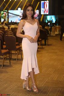 Aishwarya Devan in lovely Light Pink Sleeveless Gown 024.JPG