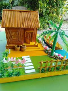 Một số mô hình Handmade bằng tăm tre có giá dưới 300k
