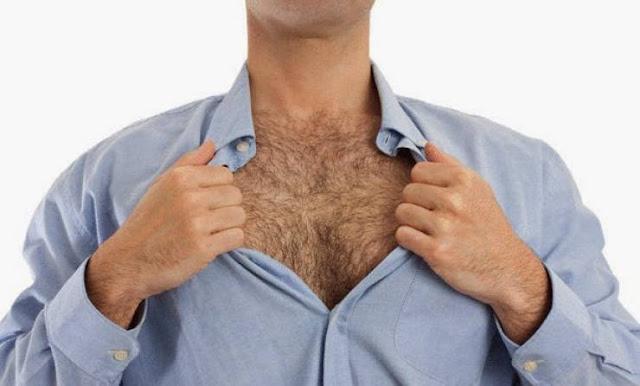 فائدة شعر صدر الرجل و هل يدل شعر الصدر على الرجولة؟!