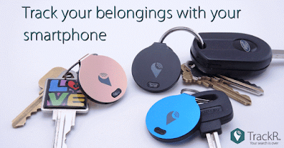 The TrackR Tracking Device