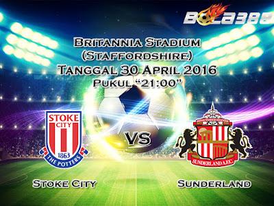 Agen Bola Terpercaya Indonesia - Prediksi Skor Stoke City Vs Sunderland 30 April 2016