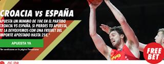 circus promocion 25 euros Eurobasket Croacia vs España 5 septiembre