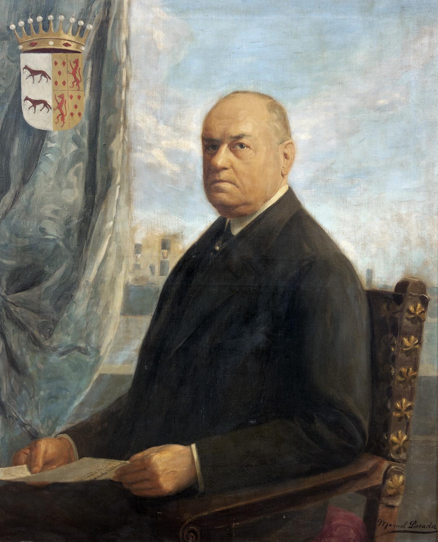 Maestros espa oles del retrato manuel losada - Pintores en bilbao ...