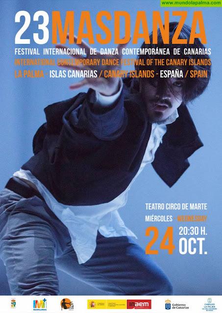 El Teatro Circo de Marte acoge el miércoles el festival internacional 'Masdanza'