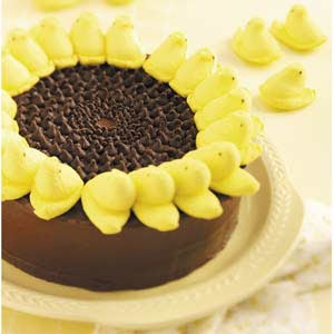 Sunflower Peep Cake