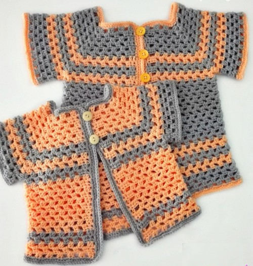 Lil Darlin Baby Cardigan - Free Pattern in Multiple Sizes