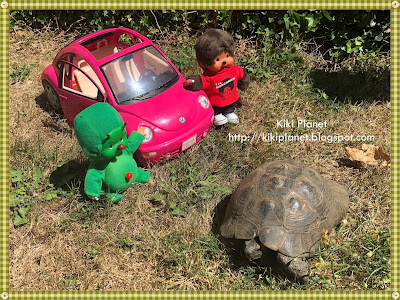 monchhichi kiki bebichhichi martian martien aventure ovni toys vintage