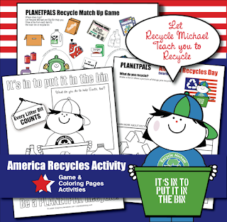 Best Activity on Earth for America Recycles Day!