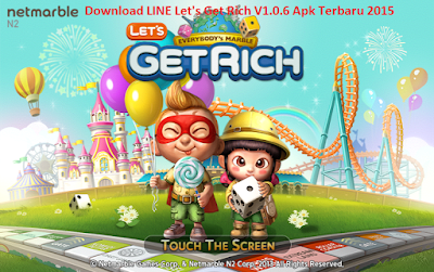 Download LINE Let's Get Rich V1.0.6 Apk Terbaru 2015