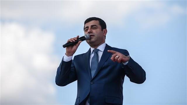 Jailed ex-leader Selahattin Demirtas of pro-Kurdish party to run for Turkish presidency