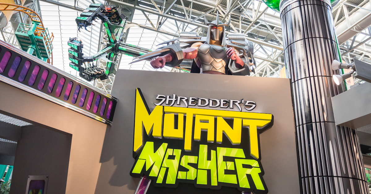 NickALive!: Mall of America Temporarily Closes TMNT Ride At ...