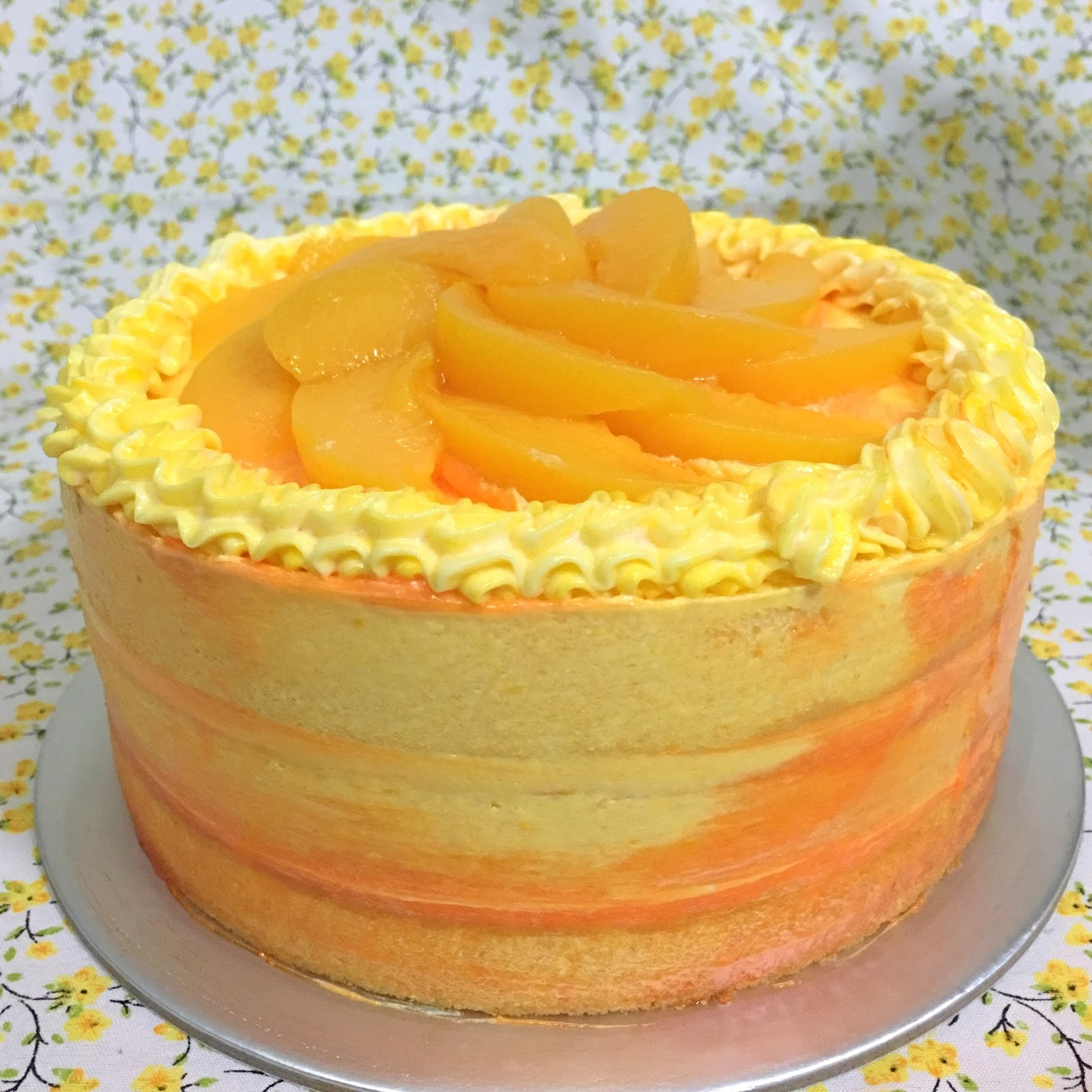 Cheese Chiffon Cake With Yuzu Passionfruit Frosting Sherbakes