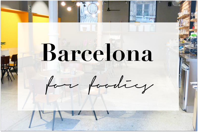 Barcelona for Foodies Café Federal