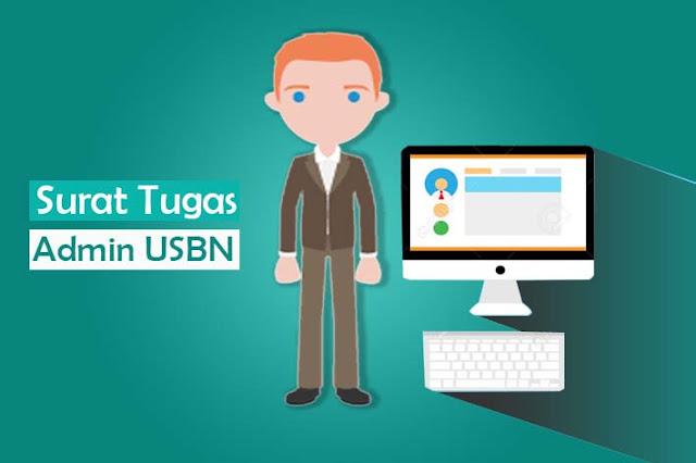 Contoh Surat Tugas Penunjukan Admin USBN