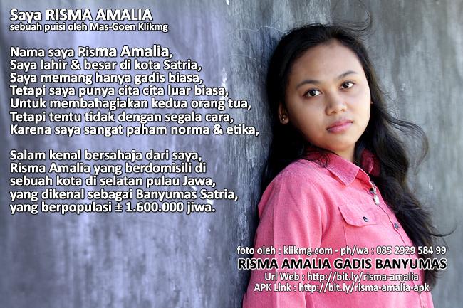 Risma Amalia Gadis Banyumas | Profil Online | bit.ly/Risma-Amalia-Gadis-Banyumas