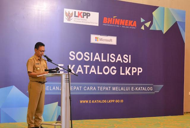 Sosialisasi E-Katalog, Kolaborasi Antara Bhinneka Dan LKPP