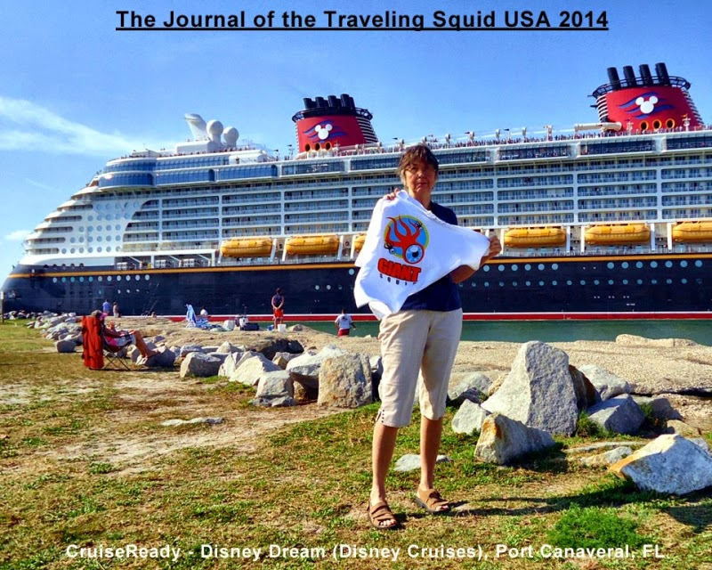 cruiseready disney dream traveling squid USA