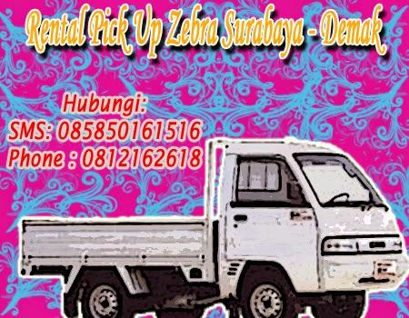 Rental Pick Up Zebra Surabaya - Demak