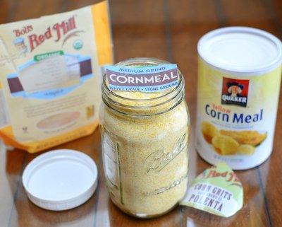 My favorite types of cornmeal for cornbread