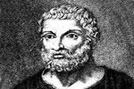 Tales de Mileto, ejemplo de filósofo presocrático griego