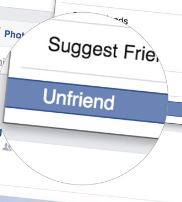 Unfriend bạn bè ít tương tác trên Facebook