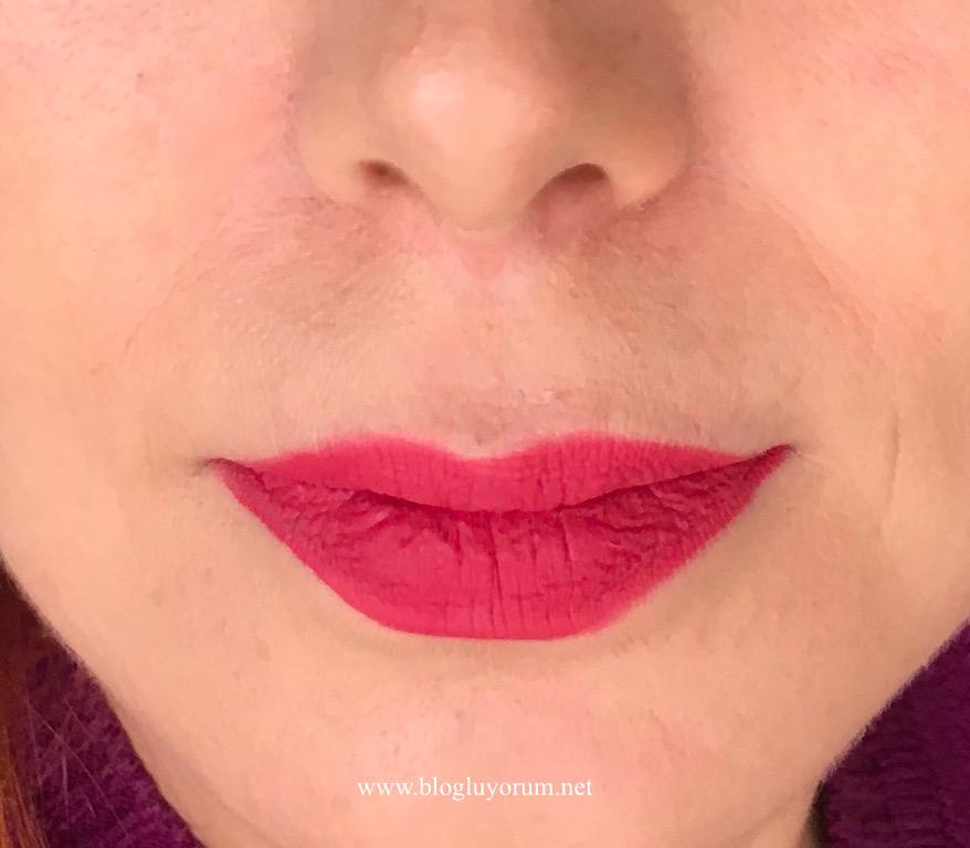 Flormar Silk Matte Liquid Lipstick 04 Daisy Blogluyorum Gokce