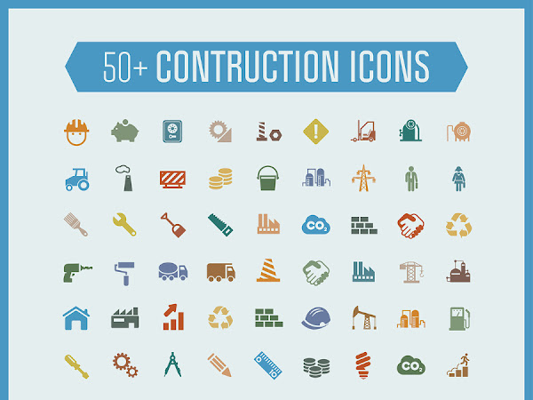 Download 50 Construction Icons Free