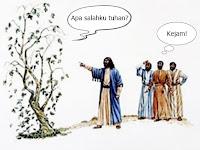 Menjawab Apologi Kristen (2): Balada Yesus dan Buah Ara