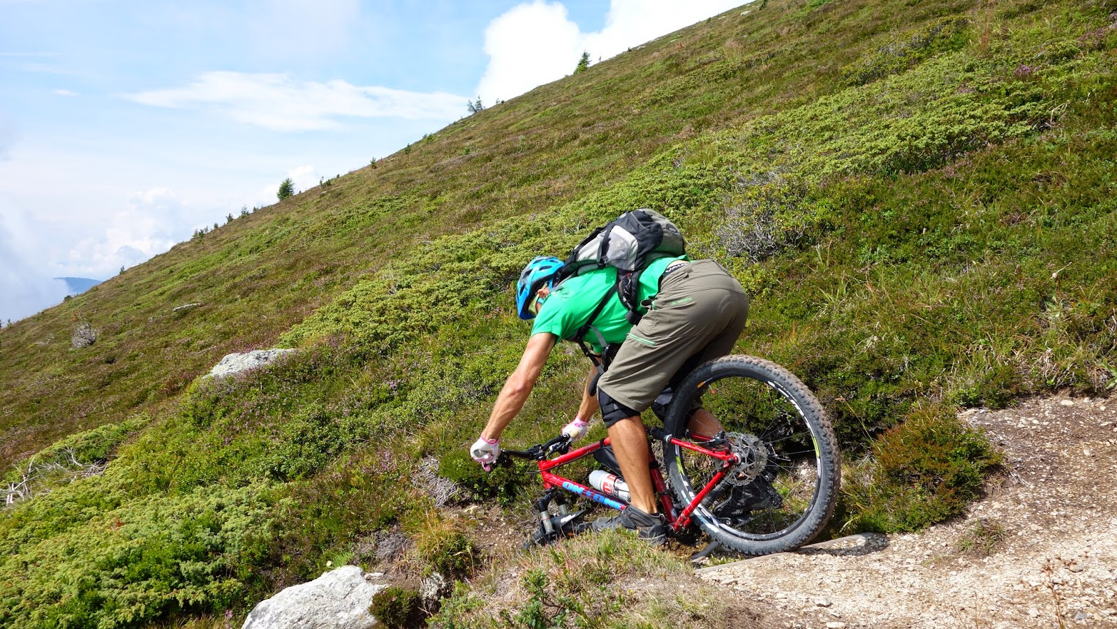 Mountainbiketour Sambock Bruneck