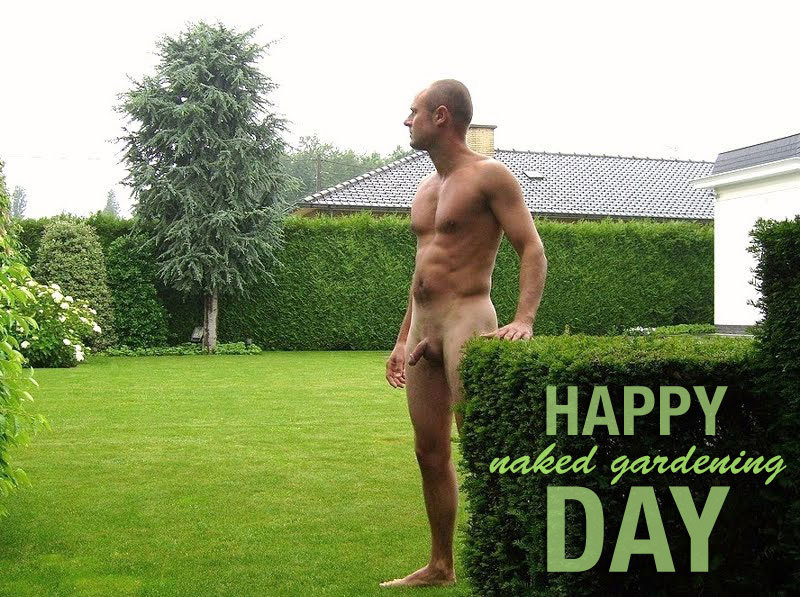 Tips for making the most of world naked gardening day