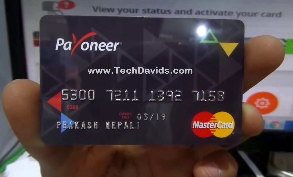 Payoneer MasterCard Finally Arrived? Here Is How To ...