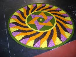 Easy Flower Rangoli
