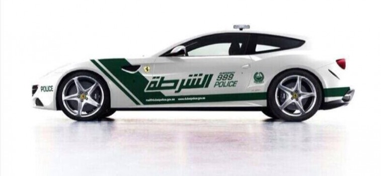 The Most Luxurious Cars Used By Dubai Police
