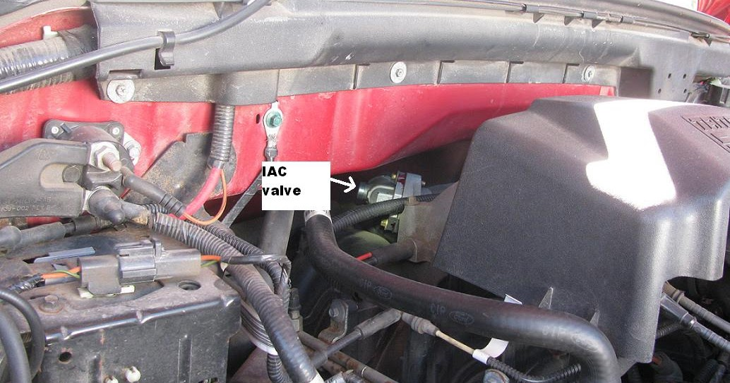 2013 Ford F150 Fuse Box Diagram The Original Mechanic 5 4l Engine Ford Won T Hold Idle