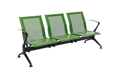bekleme koltuğu, chrom, goldsit, metal, üçlü, metal bekleme koltuğu, üçlü bekleme koltuğu, hastane bekleme,