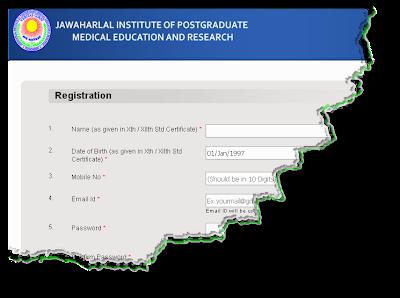 JIPMER MBBS 2013 Online form