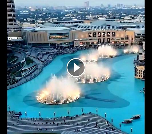 A Cool Beautiful Dubai Fountain