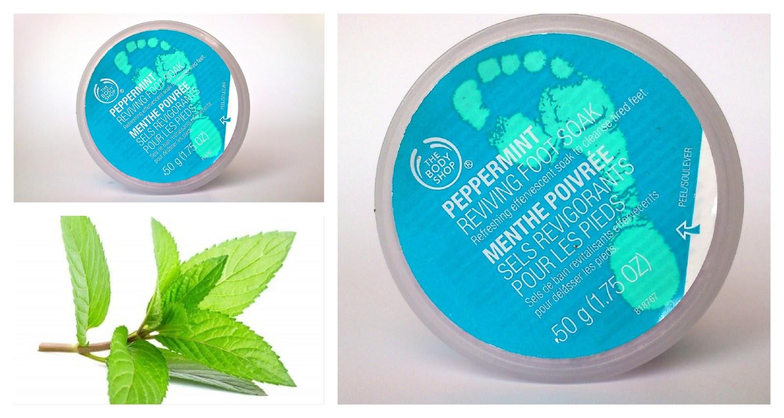 The Body Shop - Peppermint Reviving Foot Soak