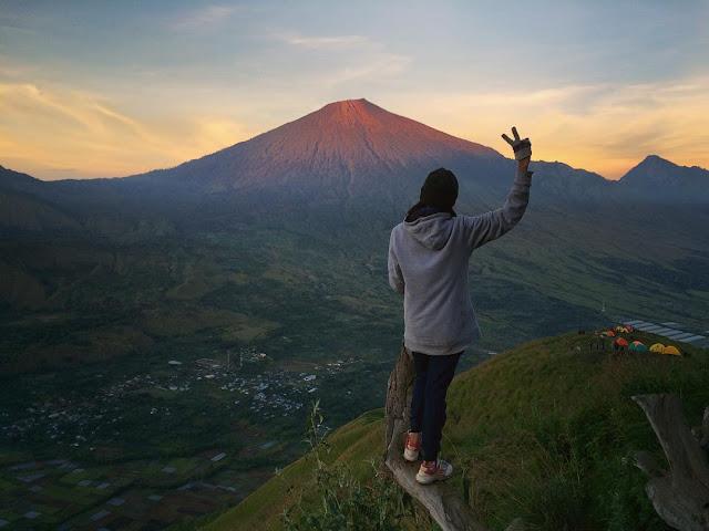 foto bukit pergasingan lombok
