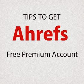 Ahref premium Free