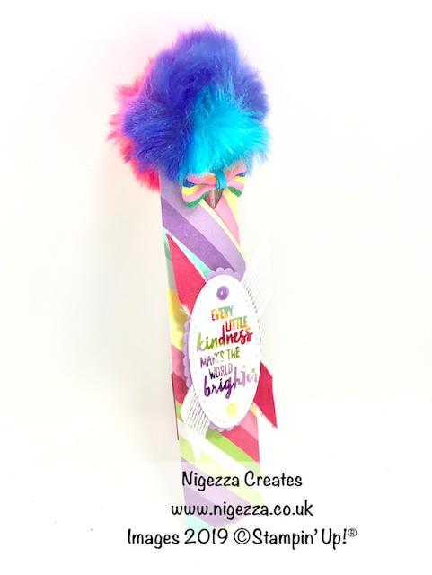 Stampin Up How Sweet Nigezza Creates Pen holder
