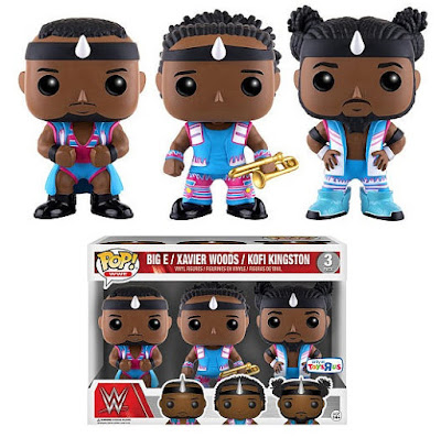 Toys R Us Exclusive WWE The New Day POP! Vinyl Figure Box Set by Funko - Big E, Kofi Kingston and Xavier Woods