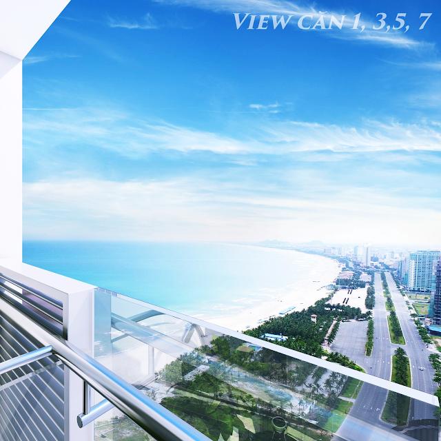 Tầm nhìn các căn hộ Luxury Apartment Đà Nẵng
